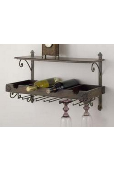 Charming Antique Wood Wine Rack ...