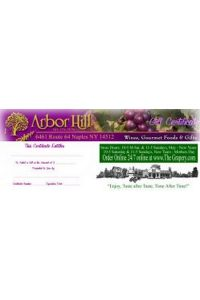 Arbor Hill Gift Certificate