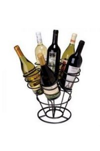 Unique Wine Racks - Filled