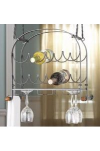 Eight Bottle Hanging Wine Rack