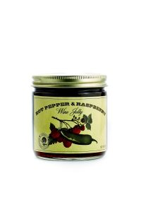 Hot Pepper & Raspberry Wine Jelly