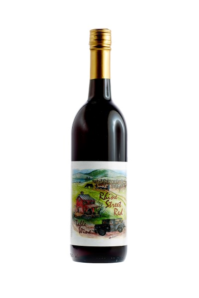 Rhine Street Red Wine - Sweet - American