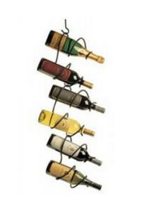 The Six Bottle Climbing Tendril Wine Rack