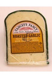 Yancey's Roasted Garlic Cheddar Cheese