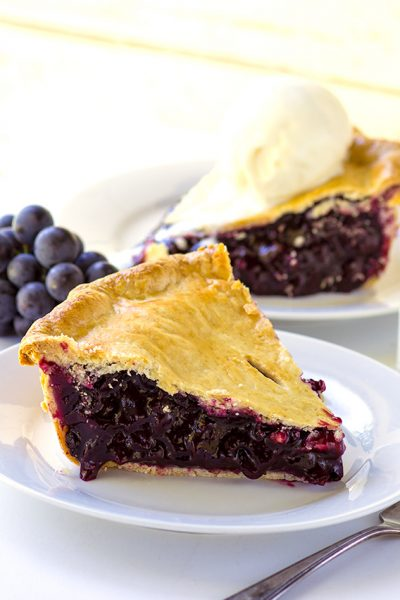 Naples Grape Pie
