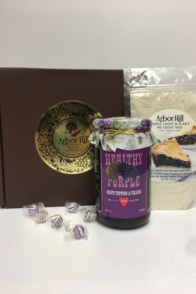 Naples Grape Pie Kit Gift Box