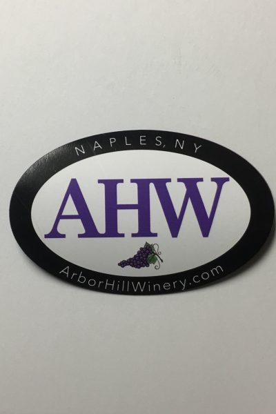 Arbor Hill Winery AHW Magnet