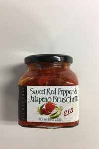 Sweet Red Pepper & Jalapeño Bruschetta