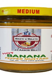 Brew & Brats Hot Banana Pepper Mustard