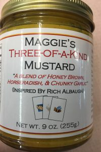 Maggie's Three of a Kind Mustard