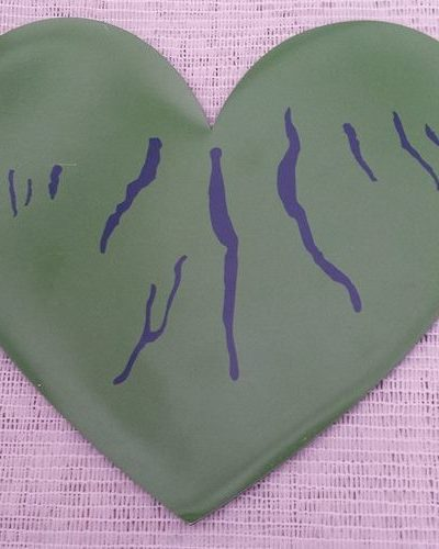 "Green Heart of the Finger Lakes 3"" Car Magnet"