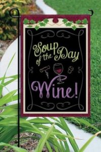 Soup of the Day Garden Flag