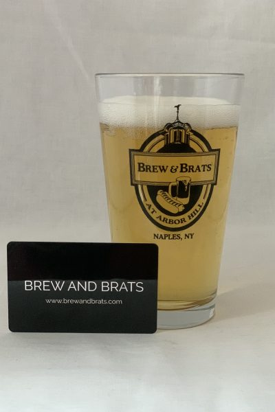 Gift Card/Certificate for Arbor Hill and Brew & Brats
